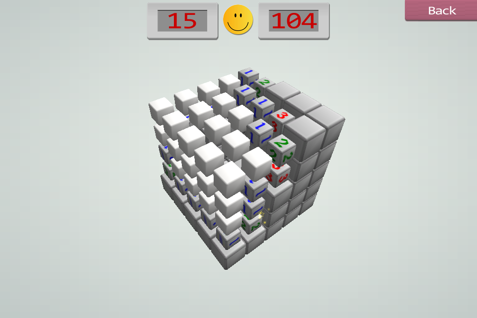 Screenshot Minesweeper3D