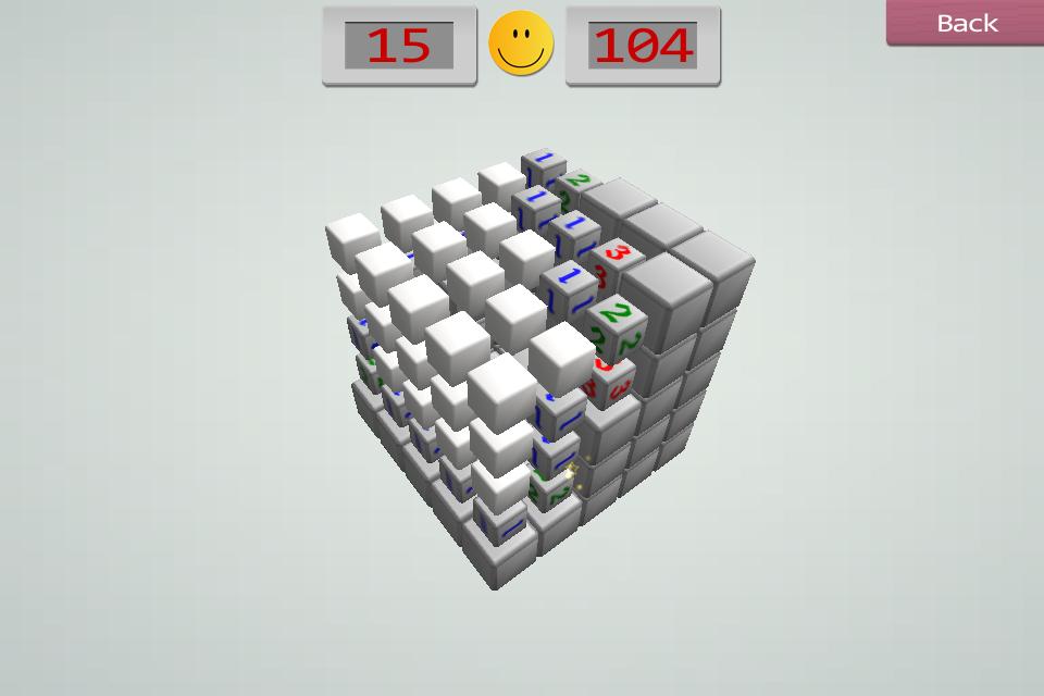 Screenshot Minesweeper3D
